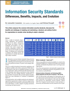 Information Security Standards: Differences, Benefits, Impacts, and Evolution