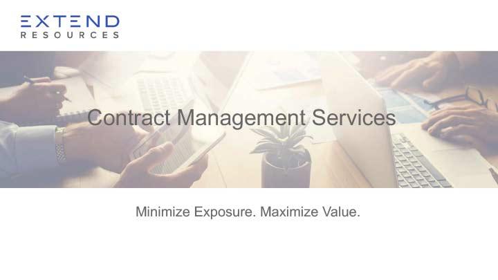 Thumbnail: Contract Management Services