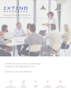 Thumbnail: EXTEND: Resources That Power Performance