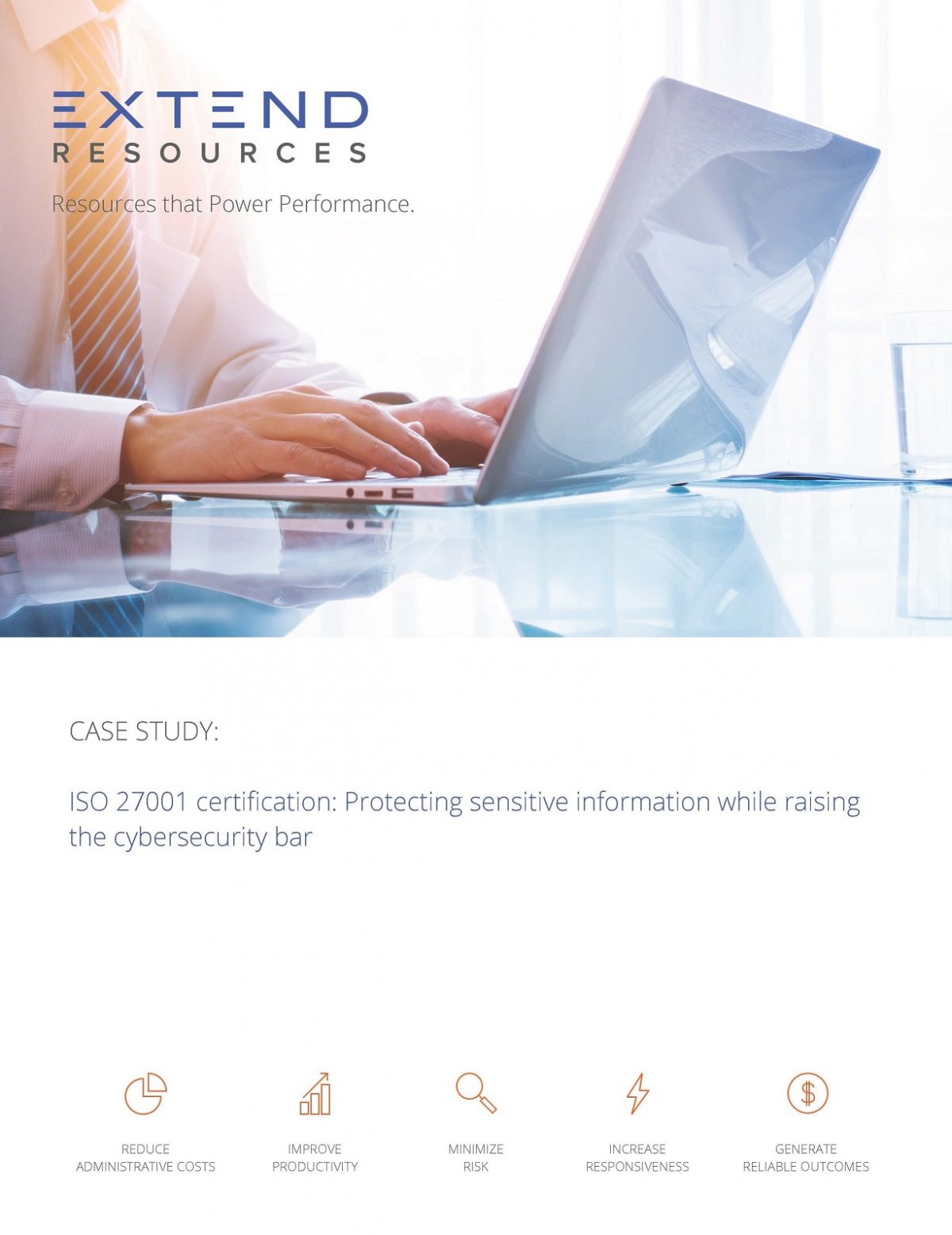Case Study: ISO 27001 Certification: Protecting sensitive information while raising the cybersecurity bar