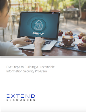 Thumbnail: Five Steps to Building a Sustainable Information Security Program