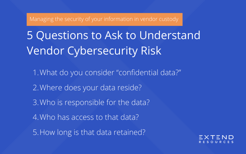 5 Questions to Ask To Understand Vendor Cybersecurity Risk