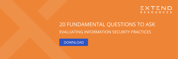 Download: 20 Questions to Ask When Evaluating Information Security