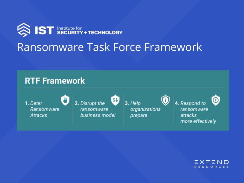 IST Ransomware Task Force Framework